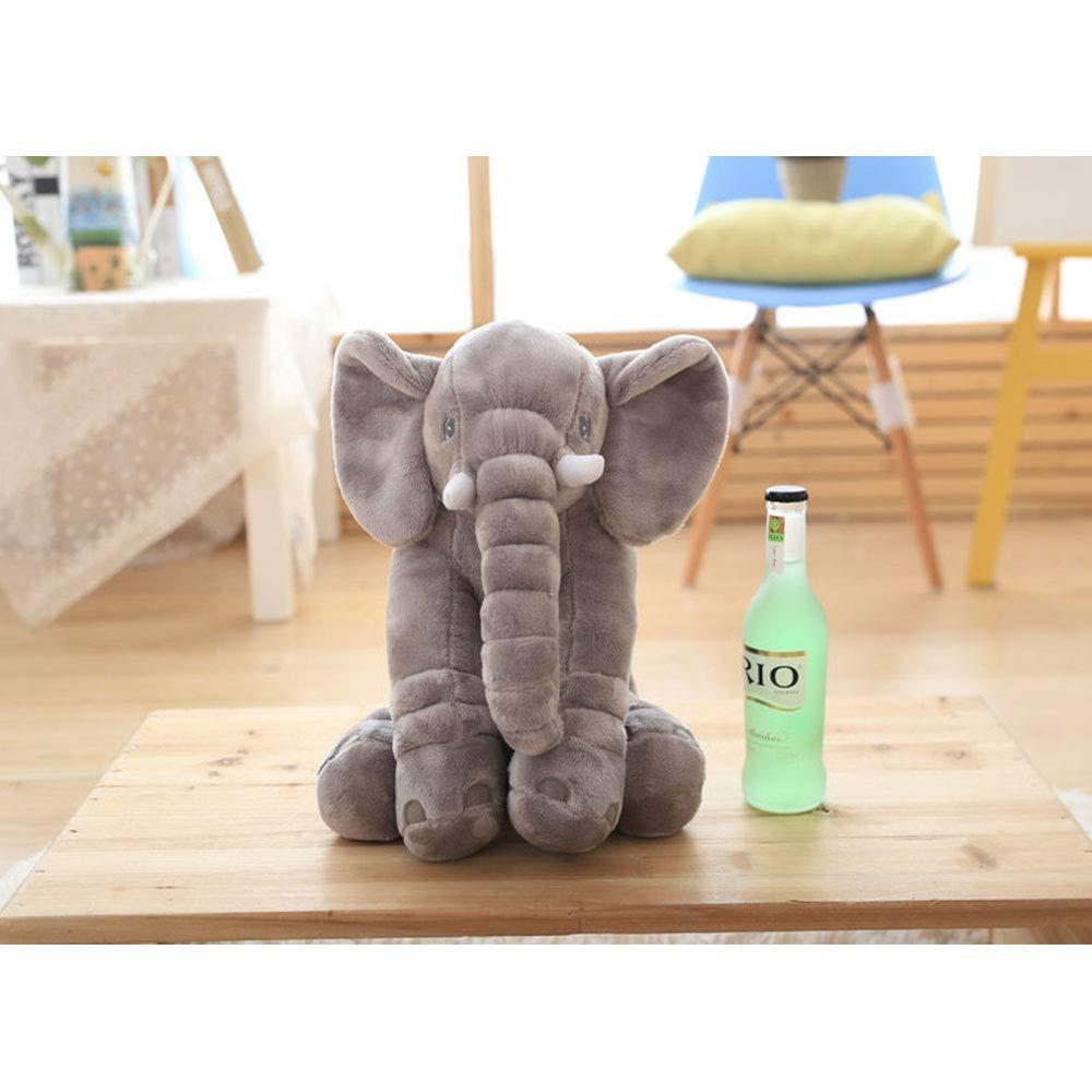 FONGFONG Peluche Elephant 30cm-Mignon Jouets en Peluche de Elephant Coussin Elephant Oreiller de Endormi Confort Jouet pour B/éb/é Enfant Adultes pour No/ël Anniversaire Halloween Rose