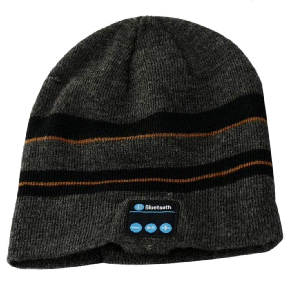 New Smart Beanie Hat With Wireless Bluetooth 4.2 Stereo Earphone Handsfree Music