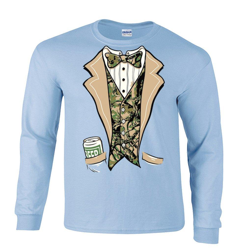 Amazon.com: Camouflage Tuxedo Wedding Tux Camo Groom Funny Long ...