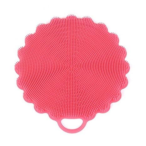 Esponja para lavar los platos de HKFV, excelente, útil, de silicona