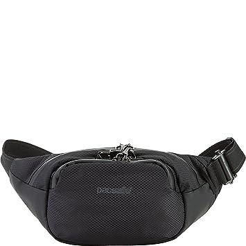 0ea288ef3d4a PacSafe Venturesafe X anti-theft waistpack Sport Waist Pack, 38 cm, 4  liters, Black (Black 100)