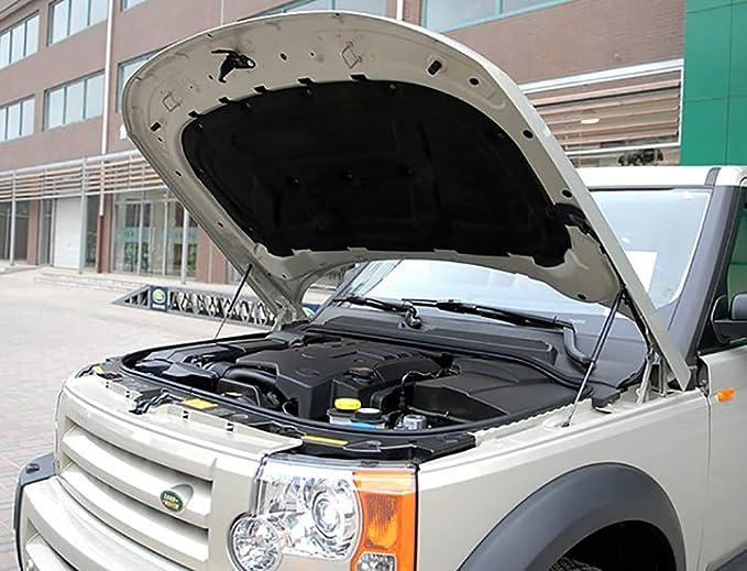 Auto Silenziatore Rivestimento Copertura Tubi in Acciaio Inossidabile for Land Rover Range Rover Velar di Scarico Posteriore marmitta Coda 2017-2020 2pcs Auto Tubo Coda Ghiera Color : Silver