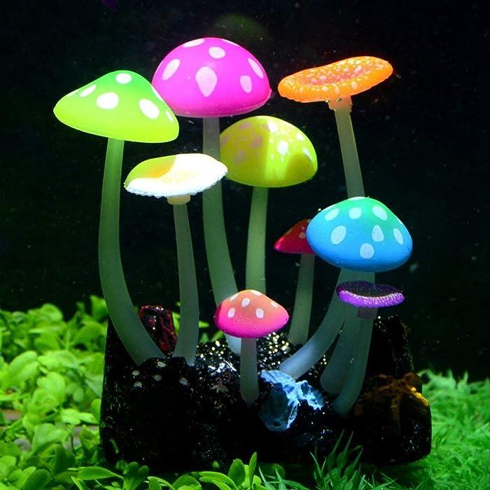 Top 9 Glowing Aquarium Decor