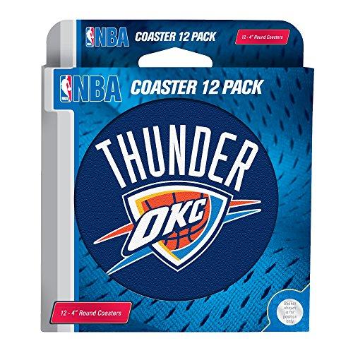fan products of NBA Oklahoma City Thunder Pulpboard Coasters, Set of 12