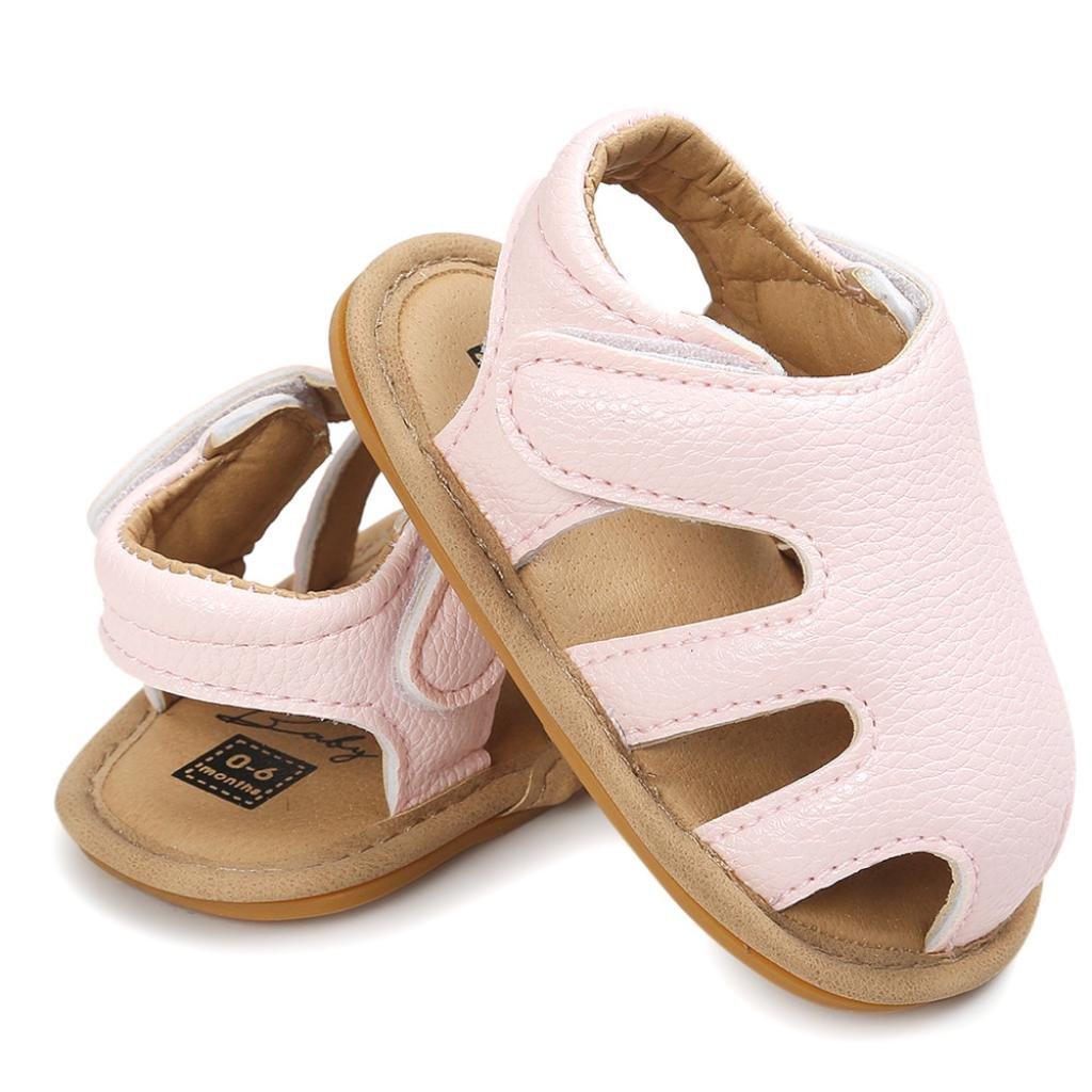 WARMSHOP Infant Toddler Boys Girls Solid Color Soft Sole Summer Casual Shoes