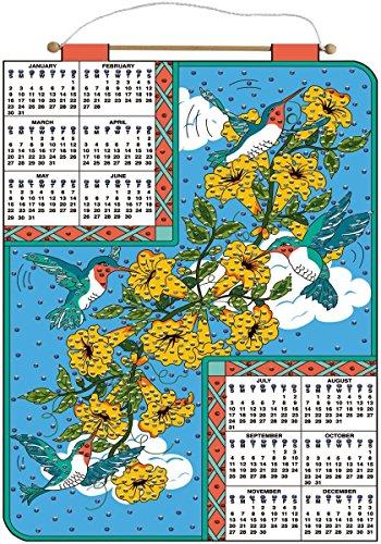 Bucilla 2011 Jeweled Felt Calendar Kit - Hummingbird - Felt Jeweled Bucilla Calendars