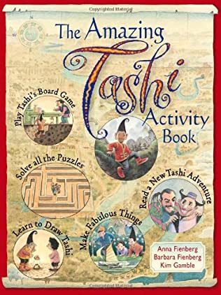 book cover of The Amazing Tashi Activity Book