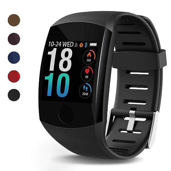 Amazon.com: LEKOO Fitness Tracker – Pulsera de actividad con ...