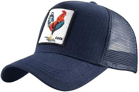 LDH - Gorra de béisbol con diseño de Animales, de algodón, para ...