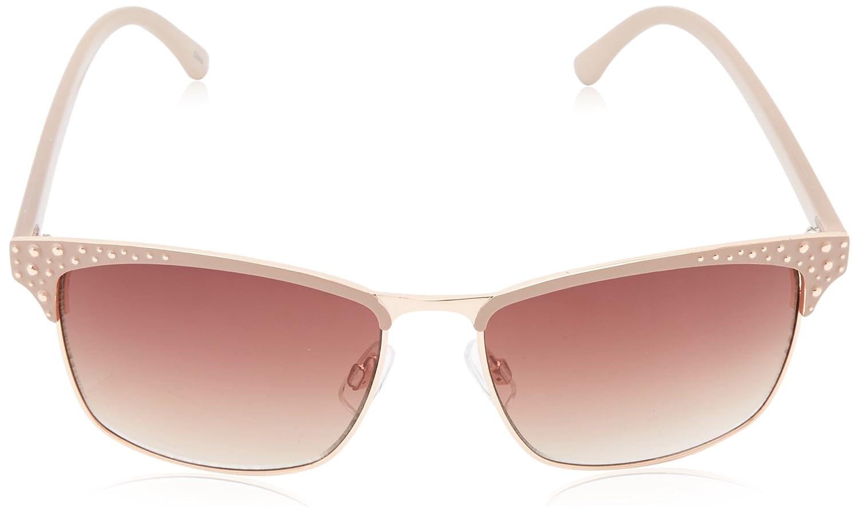89e348e45c5 Steve Madden Women s S5474 Wayfarer Sunglasses