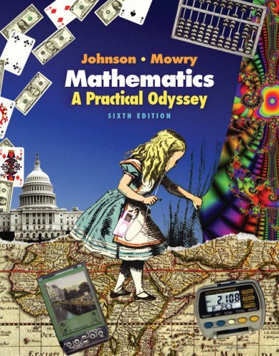 By David B. Johnson Mathematics: A Practical Odyssey (with CengageNOW, Personal Tutor, and Student Book Companion Site P (6th Edition) [Hardcover]
