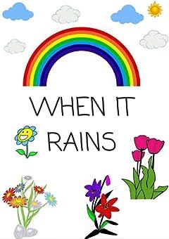 Children\'s book: children\'s book  WHEN IT RAINS
