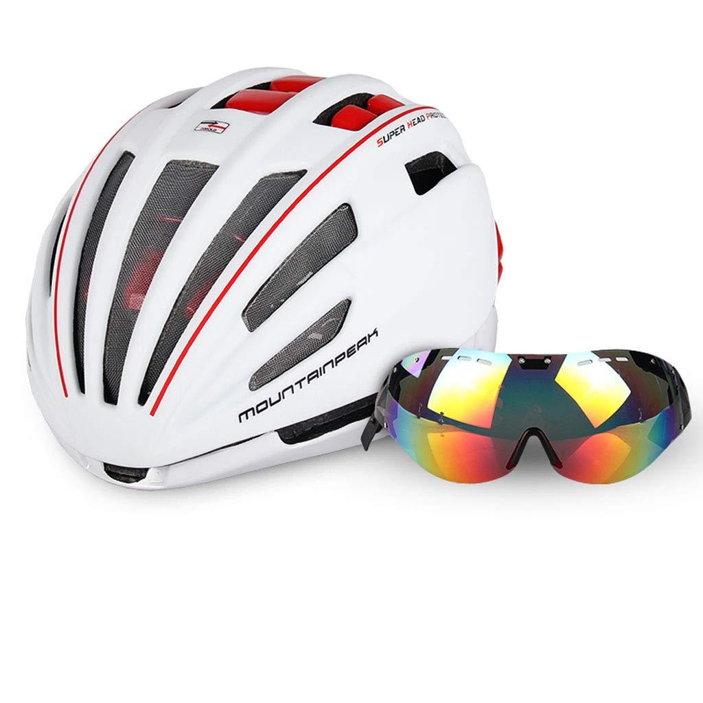 ヘルメット ヘルメットマウンテン自転車一体成形ヘルメット (色 : B) B07HQGNLNV B B