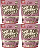 Primal Freeze-Dried Nuggets Turkey & Sardine Formula for Dogs 22oz (4 x 5.5oz)