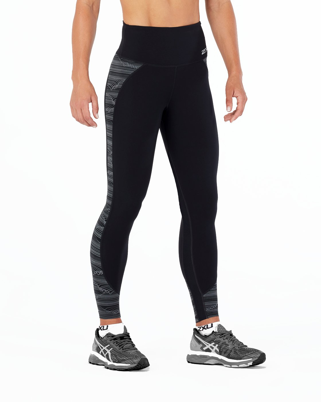 e5dc40e9 Amazon.com : 2XU Women's Fitness Hi-Rise Compression Tights : Clothing