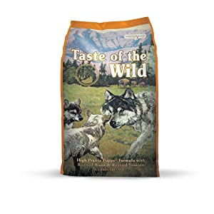 9. Taste of the Wild (Grain-Free High-Protein Natural Dry Dog Food)