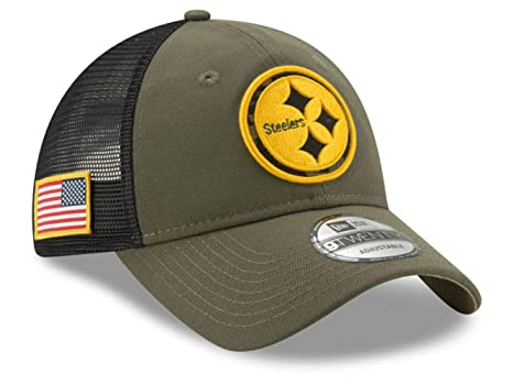 Image Unavailable. Image not available for. Color  Pittsburgh Steelers  Trucker Mesh Snapback One Size Fits ... 6e49c36d6