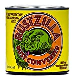 Rustzilla Rust Converter and Rust Remover, Professional Strength For All Metals Including Stainless Steel, Steel, Cast-Iron, 8 OZ