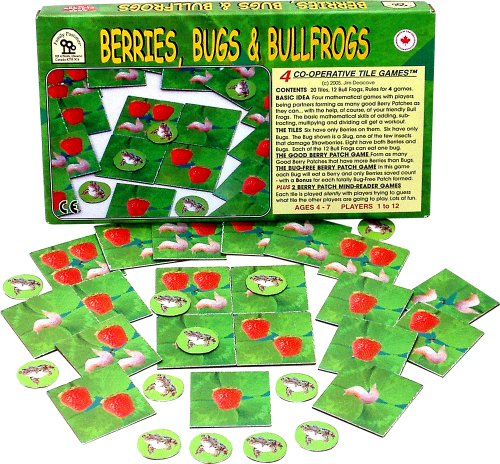 Family Pastimes Berries, Bugs and Bullfrogs - Four Co-operative Tile Games ()