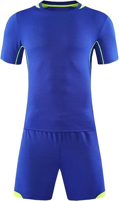 KINDOYO Camisa de fútbol para Hombres y niños, chándal de Entrenamiento de fútbol, Camisetas de fútbol Antiarrugas y antipilling: Amazon.es: Ropa y accesorios