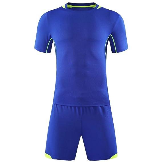 XFentech Camiseta de fútbol, chándal de Entrenamiento de fútbol ...