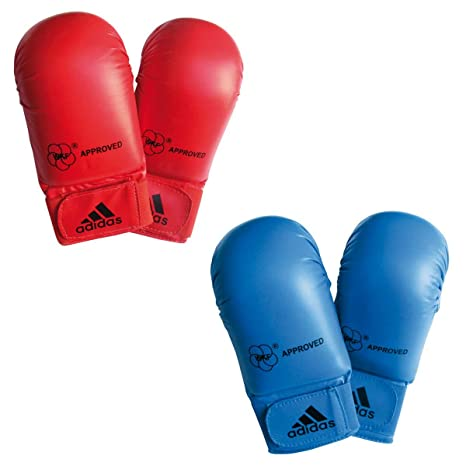 Adidas Box-Fit Open Thumb Boxing Bag Gloves White//Green