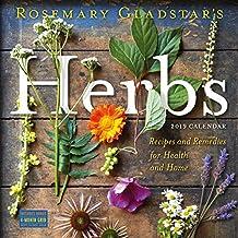 Rosemary Gladstar's Herbs Wall Calendar 2019