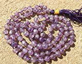 Amethyst edelstein japa mala perlen 108 perlen ~ meditation, gebet
