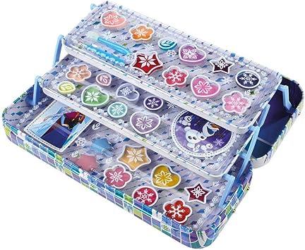 Disney Markwins 97016, Estuche Frozen con Maquillaje, Azul, 1 unidad: Amazon.es: Juguetes y juegos