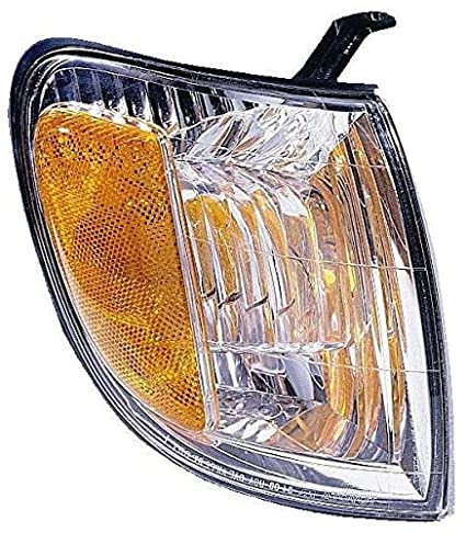 For 2000 2001 2002 2003 2004 Toyota Tundra Regular//Access Cab Turn Signal Corner Light lamp Assembly Driver Left Side Replacement Capa Certified TO2530135
