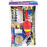 ささめ針(SASAME) ウルトラ簡単飛ばしサビキ(上カゴ式) L S-553