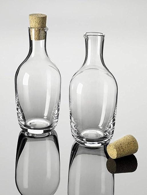 Compra SWEET HOME Botella de Vidrio de 1, 2 L con tapón de Corcho ...