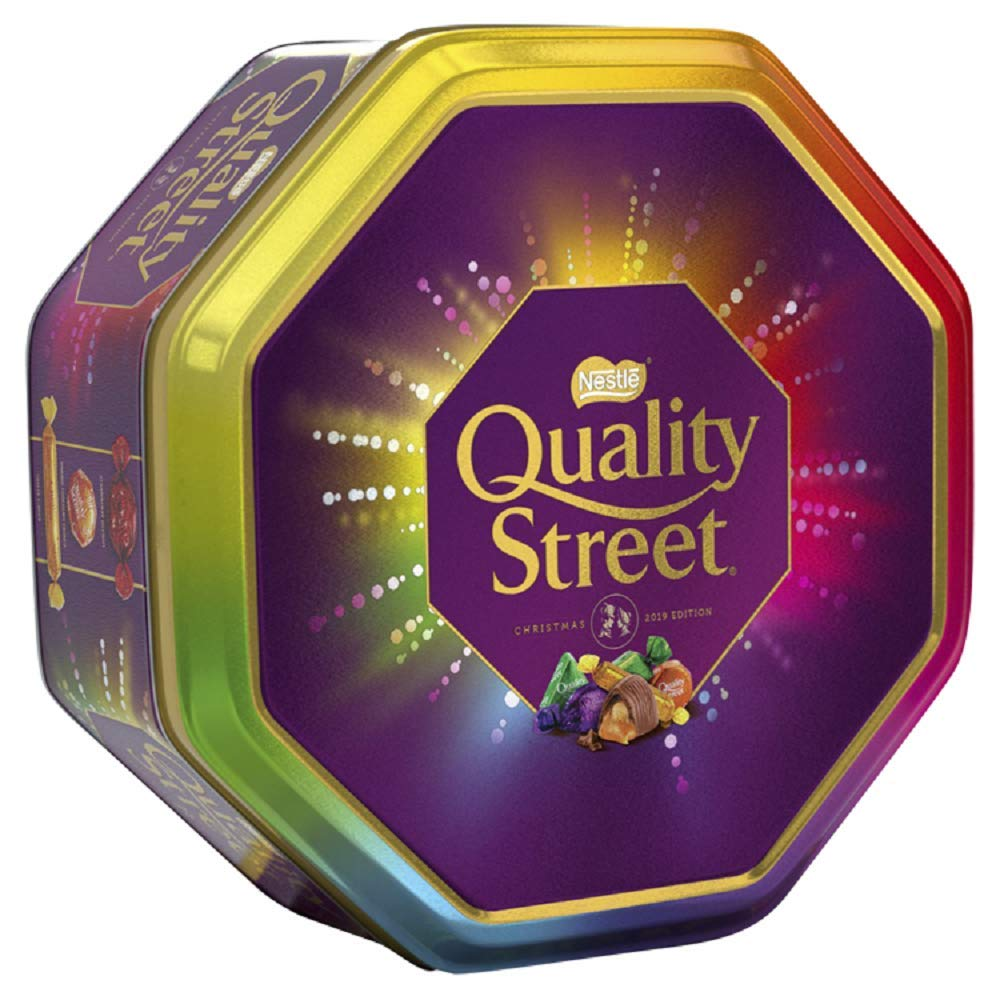 Nestle Quality Street Festival Tin 1Kg by Nestle