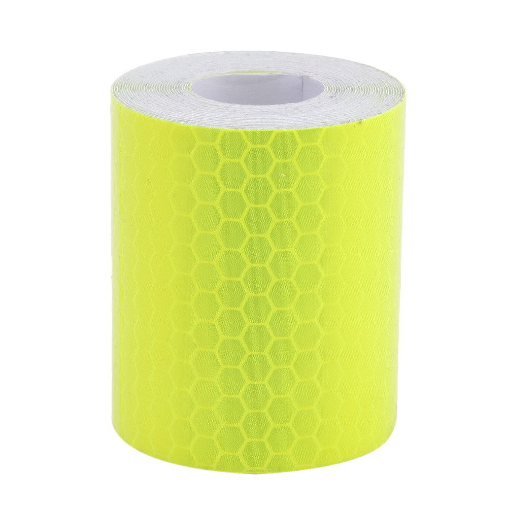Yellow Awakingdemi 5300cm Car Reflective Tape Stickers Car Styling for Automobiles Safe Car Truck Motorcycle Cycling Reflectors