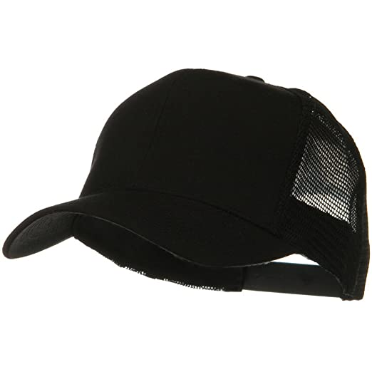 62caaa364dff1d Otto Caps Solid Cotton Twill Mesh Prostyle Cap - Black at Amazon Men's  Clothing store: Baseball Caps