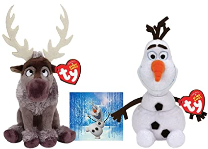 bcd070e529c Image Unavailable. Image not available for. Color  Ty Beanie Babies Sven  Reindeer ...
