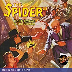 Spider #16 January 1935
