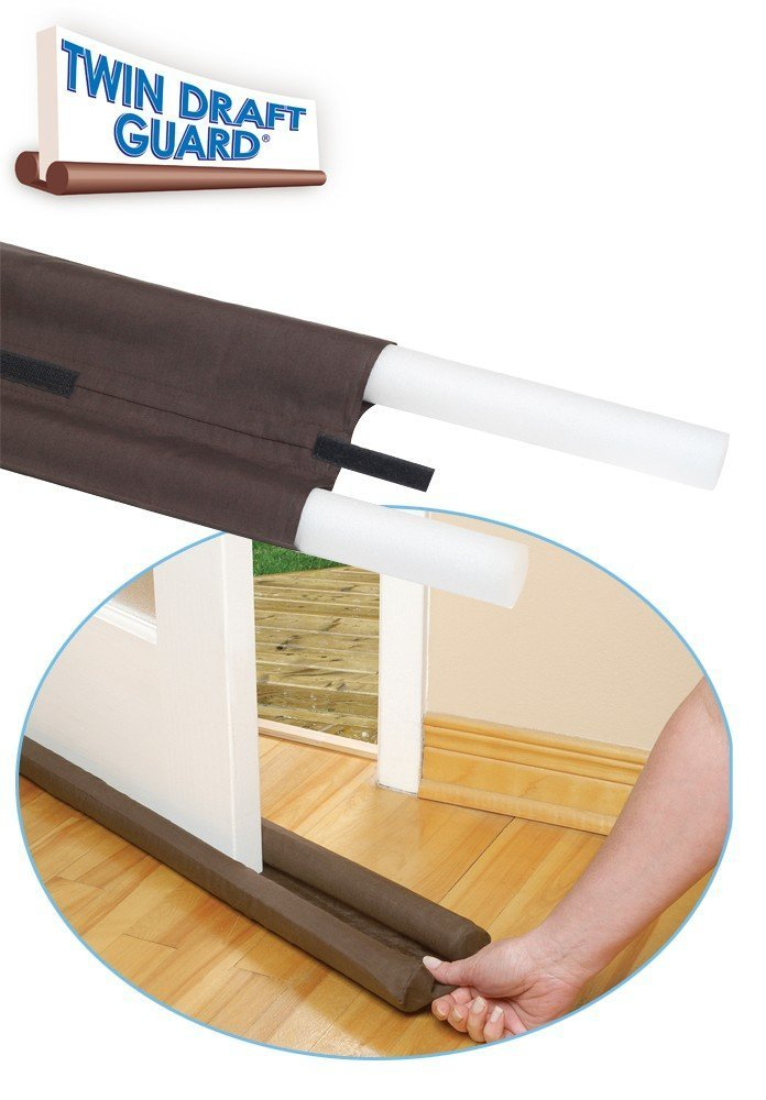 Lifestyle - You Twin Door Draft Guard. Stop Unwanted light and Stop  escaping of cool air from air conditioner split or Window: Amazon.in: Home  Improvement