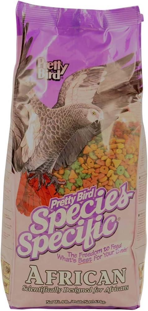 Pretty Bird International Species Specific African Bird Food- 8-Pound