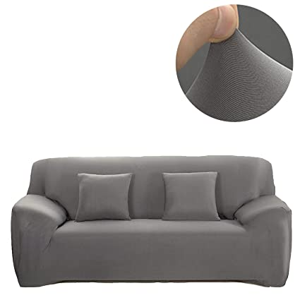 Amazon.com: ANJUREN 1 Piece Sofa Couch Loveseat Chair Slipcover ...