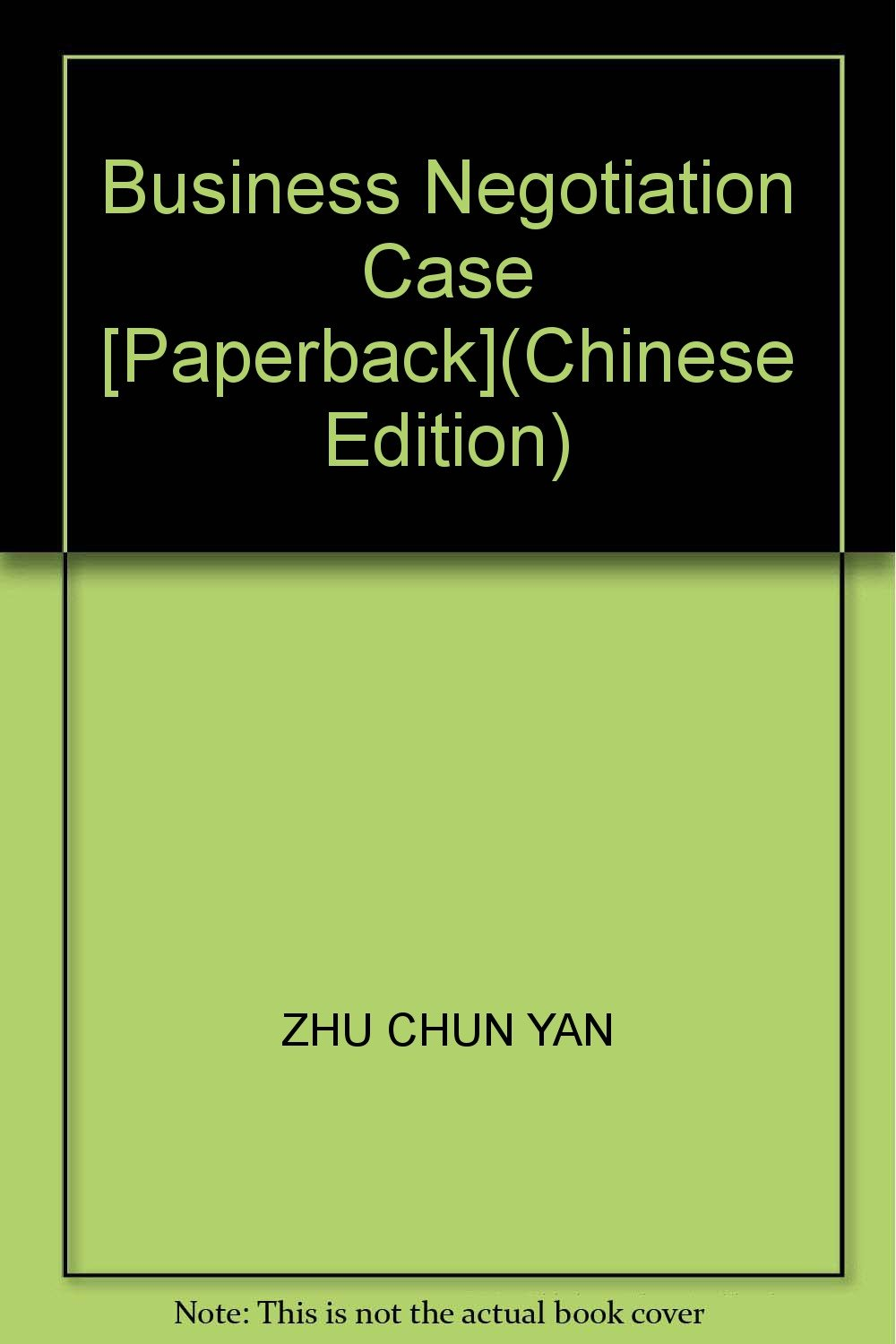 Download Business Negotiation Case [Paperback](Chinese Edition) ebook