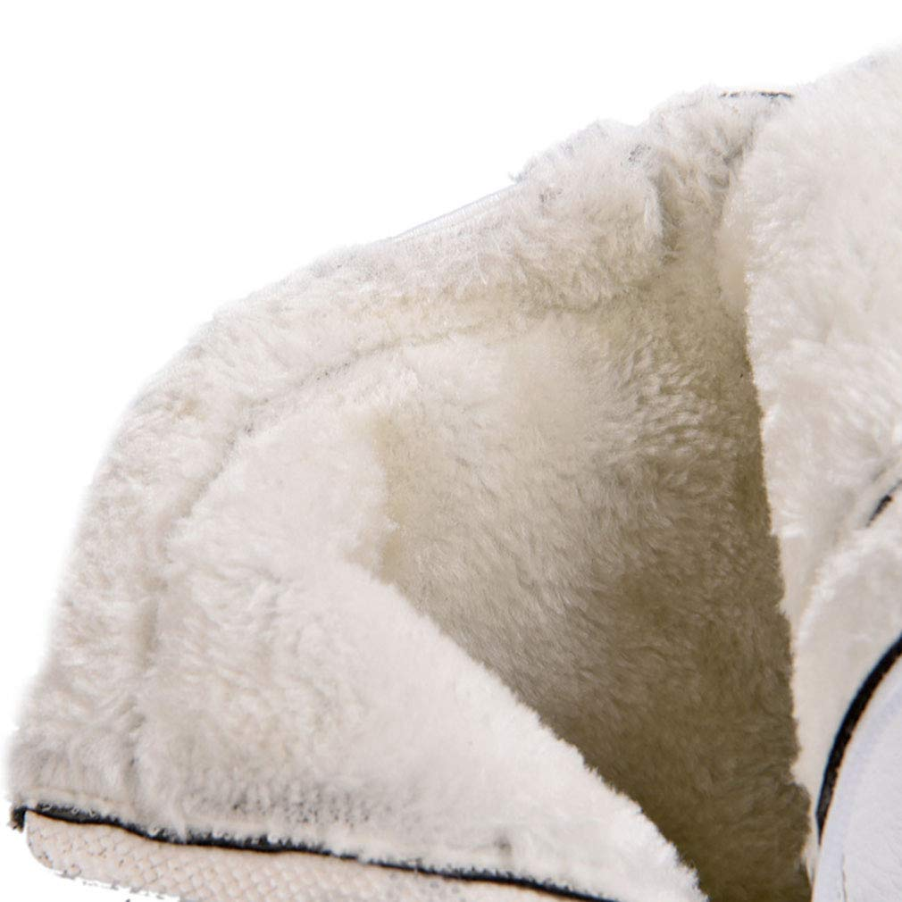 YAN YAN YAN Herrenschuhe Mikrofaser Winter Deck Schuhe Academy High-Top Casual Schuhe Fahrradschuhe Trail Laufschuhe Weiß Schwarz,Weiß,39 4faf9f