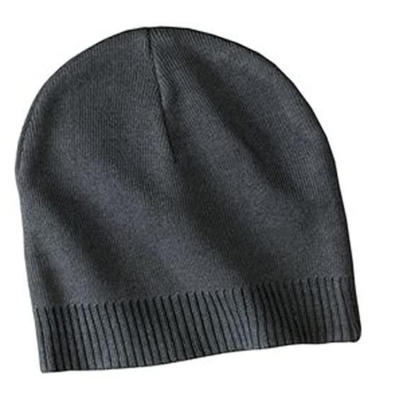 6b9354009ed Amazon.com  Upscale 100% Cotton Beanie Hat Cap - Graphite  Clothing