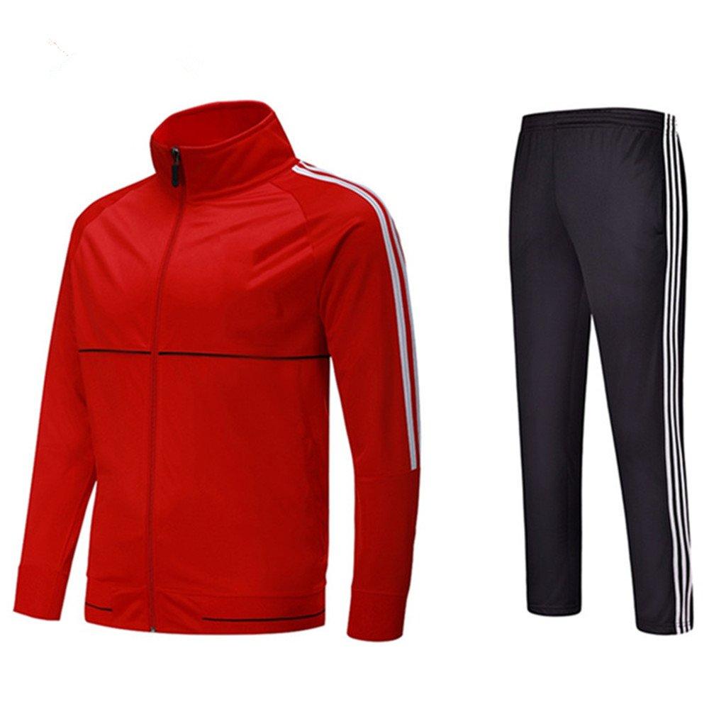 Amazon.com: Para hombre gimnasio traje rojo, XL, Rojo: Clothing