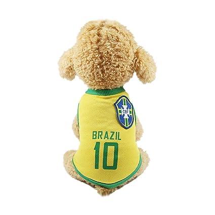 SungpunetPuppy - Camiseta de fútbol para Perro (4 XL)