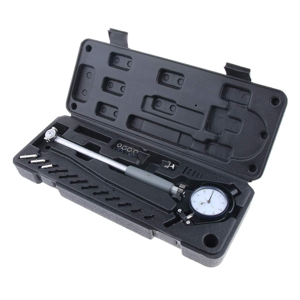 SM SunniMix Dial Indicator Bore Gauge Gage Kit Engine Cylinder 35-50mm/1.4-2'' 0.01mm, Easy to Use