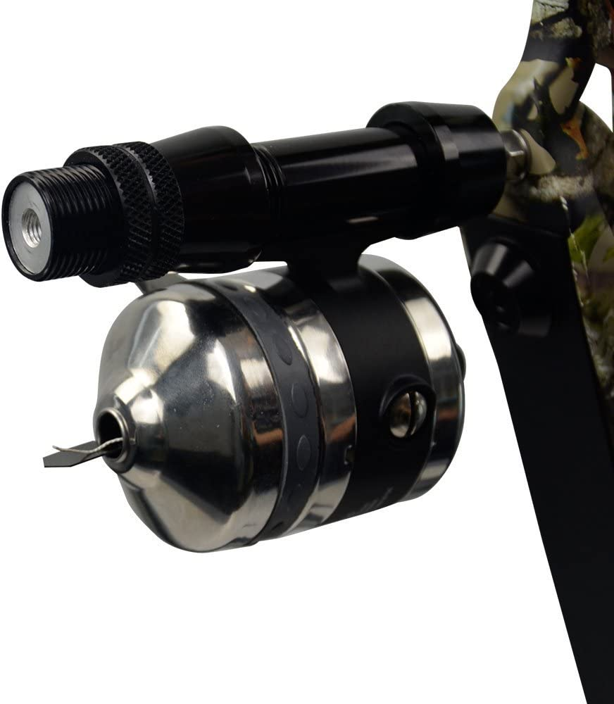 Archery Bowfishing Reel Recurve Bow Compound Bow Hunting Shooting Reel 55yd