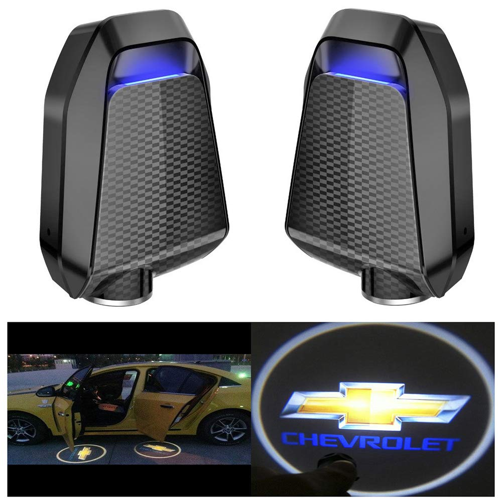 Amazon Com For Chevrolet Chevy Led Projector Logo Illuminated Laser