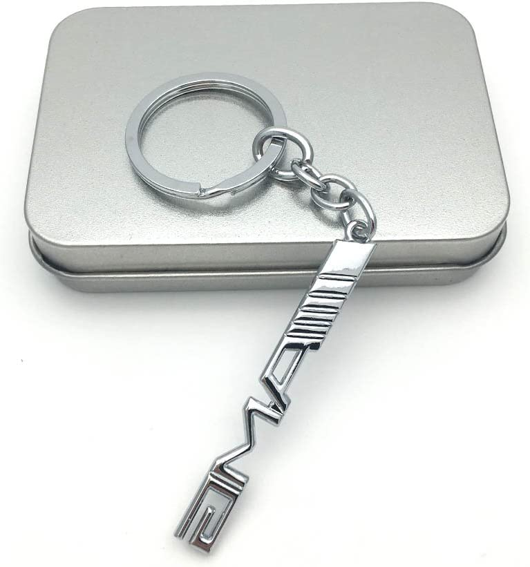 YIKA Car Key Chain Key Ring for BMW
