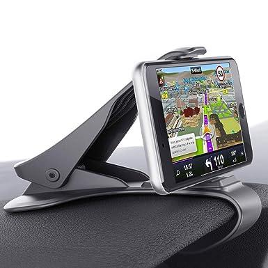 Soporte de coche, glamore ne-140 salpicadero gps teléfono móvil soporte universal coche soporte